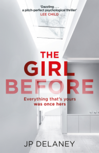 Reblog: The Girl Before by J P Delaney – Reviewed by Wendy Unsworth
